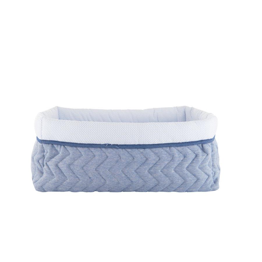 Blue Jeans Verzorgingsmand vierkant - Gewatteerd Jersey-1