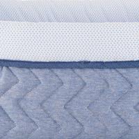 thumb-Blue Jeans Verzorgingsmand vierkant - Gewatteerd Jersey-3
