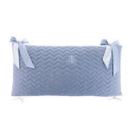 thumb-Blue Jeans Bedbeschermer 70cm - Gewatteerd (70x70x70cm) H:32cm-3