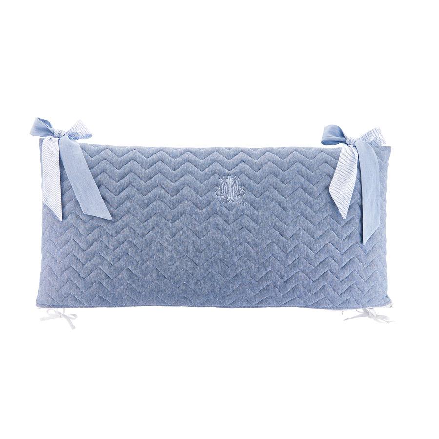 Blue Jeans Bedbeschermer 70cm - Gewatteerd (70x70x70cm) H:32cm-3