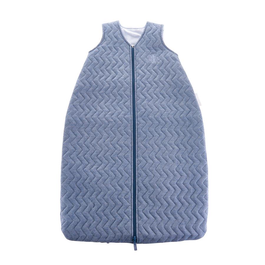 Blue Jeans Slaapzak 90cm - Gewatteerd Jersey-1