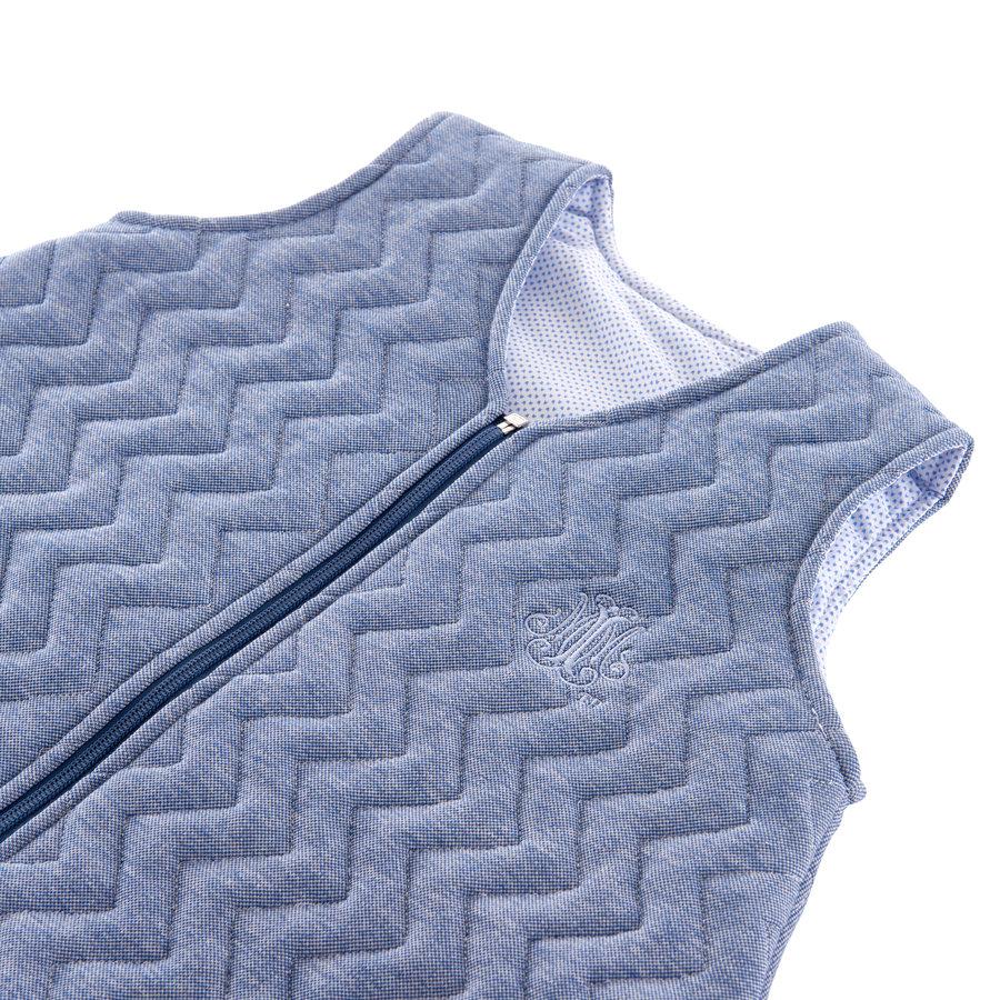 Blue Jeans Slaapzak 90cm - Gewatteerd Jersey-2