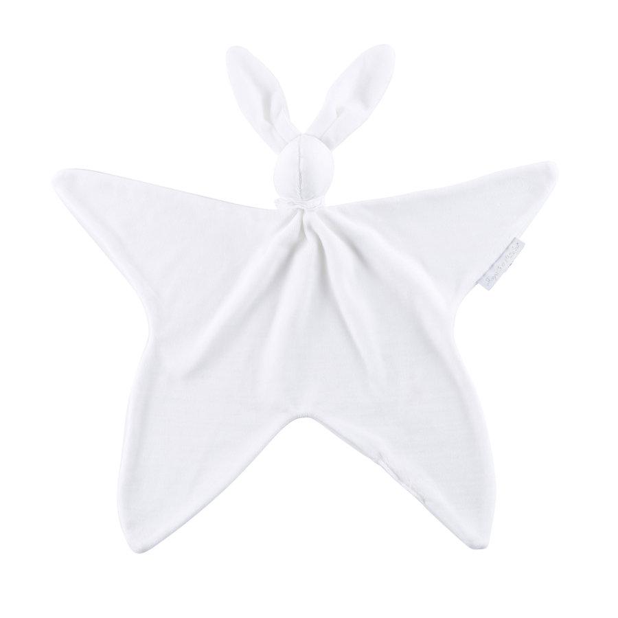 Knuffeldoekje - Fluweel wit-1