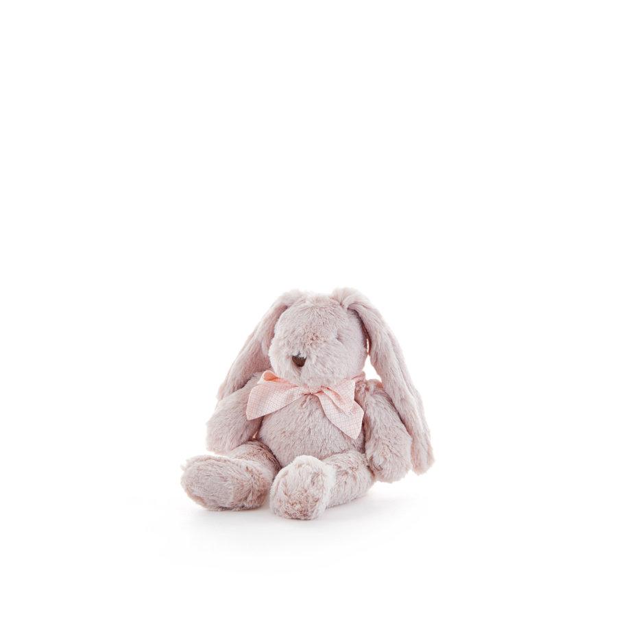 Muzikaal konijn strik met roze stippen  - 30cm-1