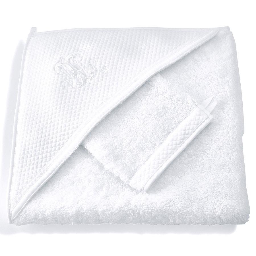 Royal White Kaphanddoek + washandje-1