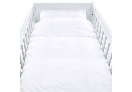 Théophile & Patachou Royal White Donsovertrek bed 100x135cm + sloop