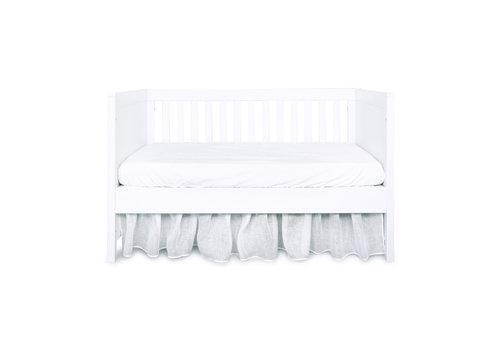 Théophile & Patachou Royal White Bedrok 60x120cm - Linnen