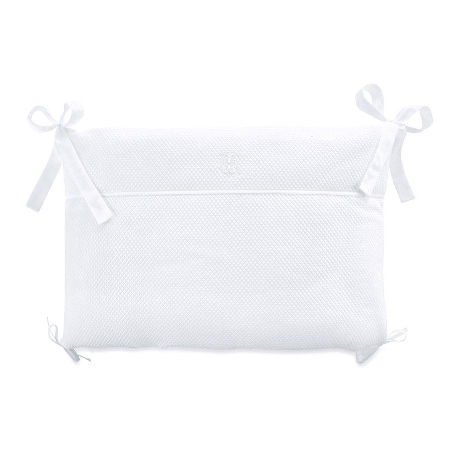 Royal White Bedbeschermer 70cm - Gewafeld (60x70x60cm) H:42cm-1