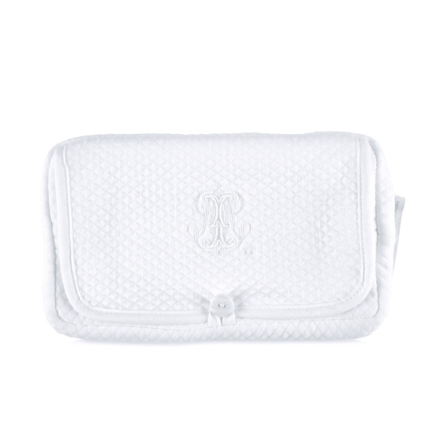 Royal White Reishoes vochtige doekjes - Gewafeld-1