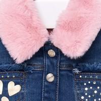thumb-spijkerjas met fake fur kraag-3