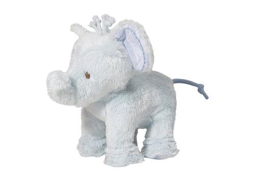 Tartine et Chocolat olifant 12cm - blauw