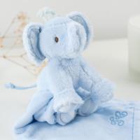 thumb-olifant knuffeldoekje - blauw-2