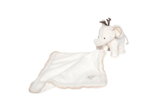 Tartine et Chocolat olifant knuffeldoekje - ecru