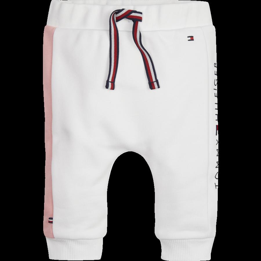 joggingbroek met roze bies-1