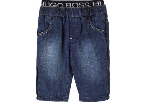 Hugo Boss spijkerbroek met logoband