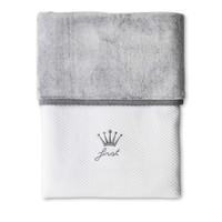 deken van katoen en teddy - Endless Grey