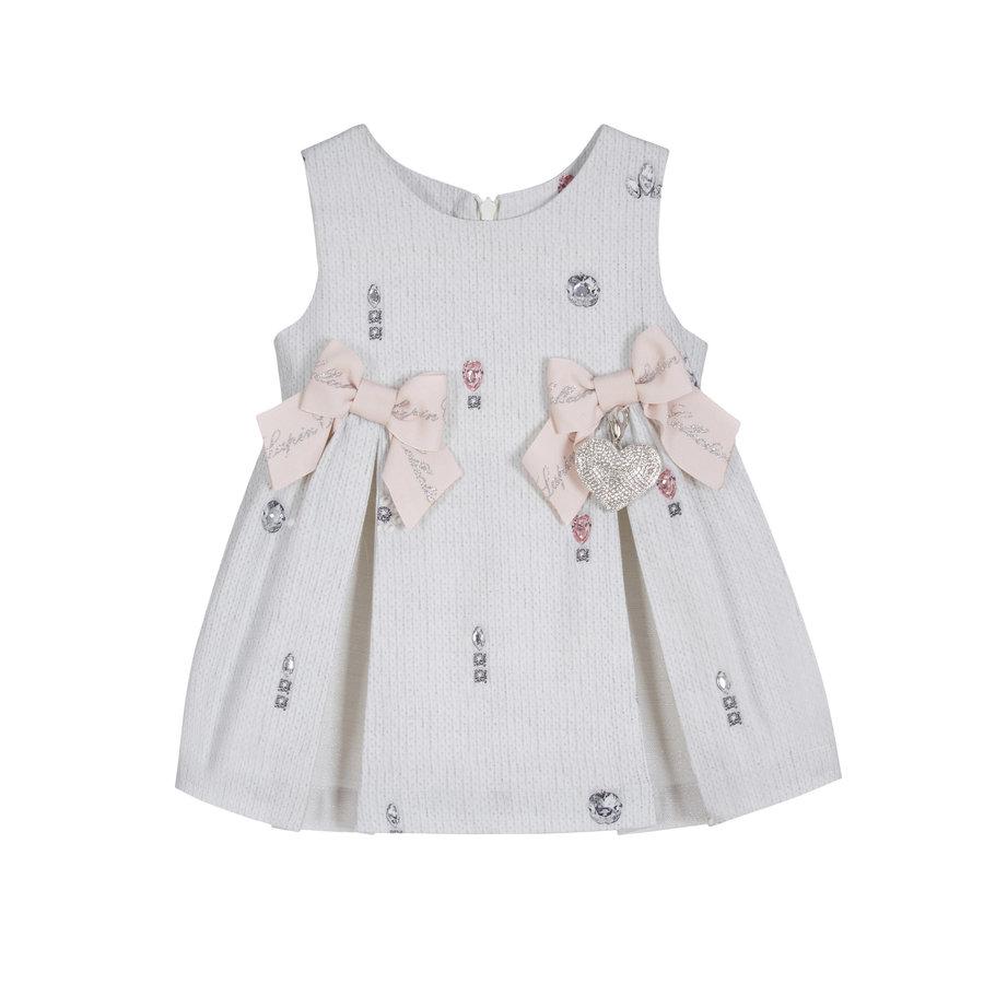 jurk met strikken-1