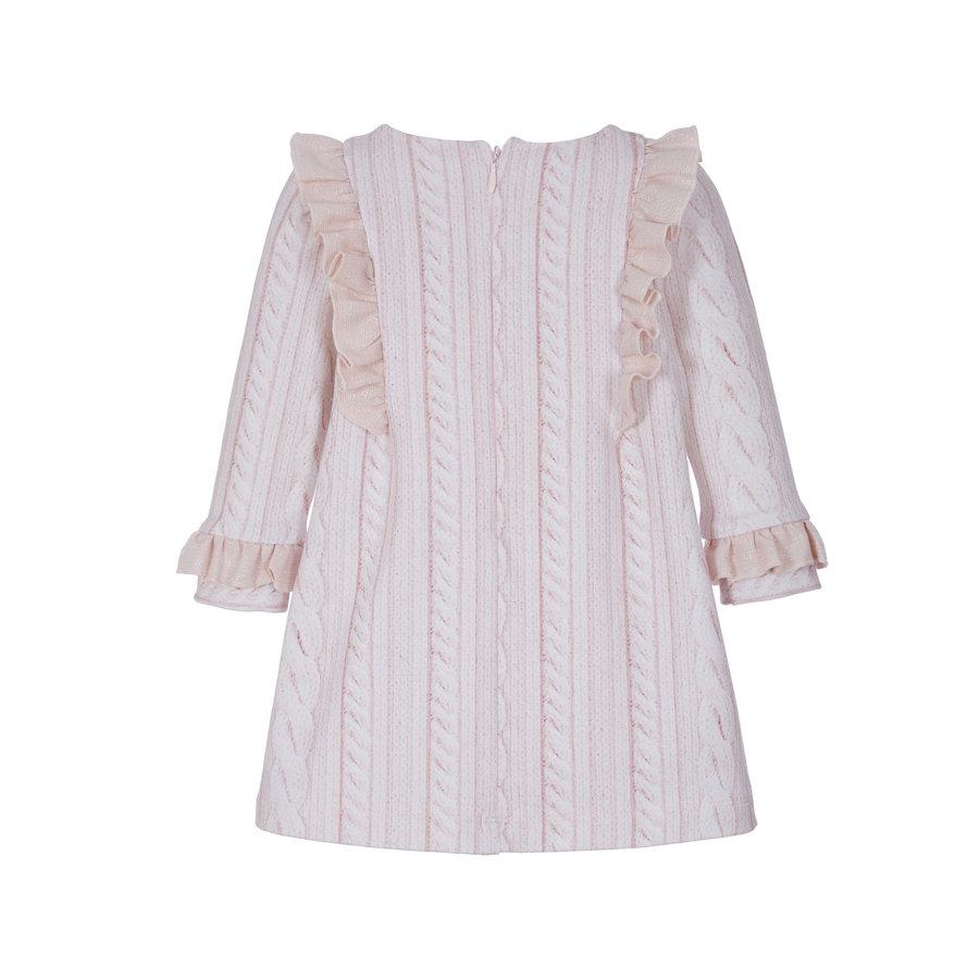 jurk met strik en ruches-2