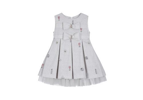 Lapin House jurk met strikjes