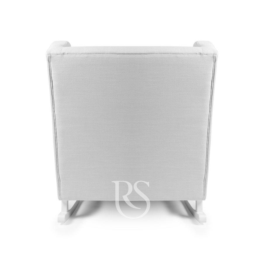 schommelstoel Pearl Rocker - Silver Grey / White-2