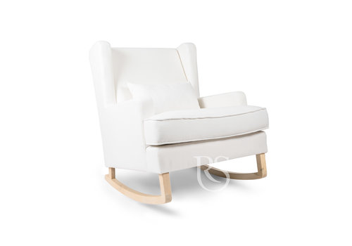Rocking Seats schommelstoel Pearl Rocker - Snow White / Natural