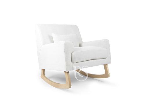 Rocking Seats schommelstoel Jazz Rocker - Snow White / Natural