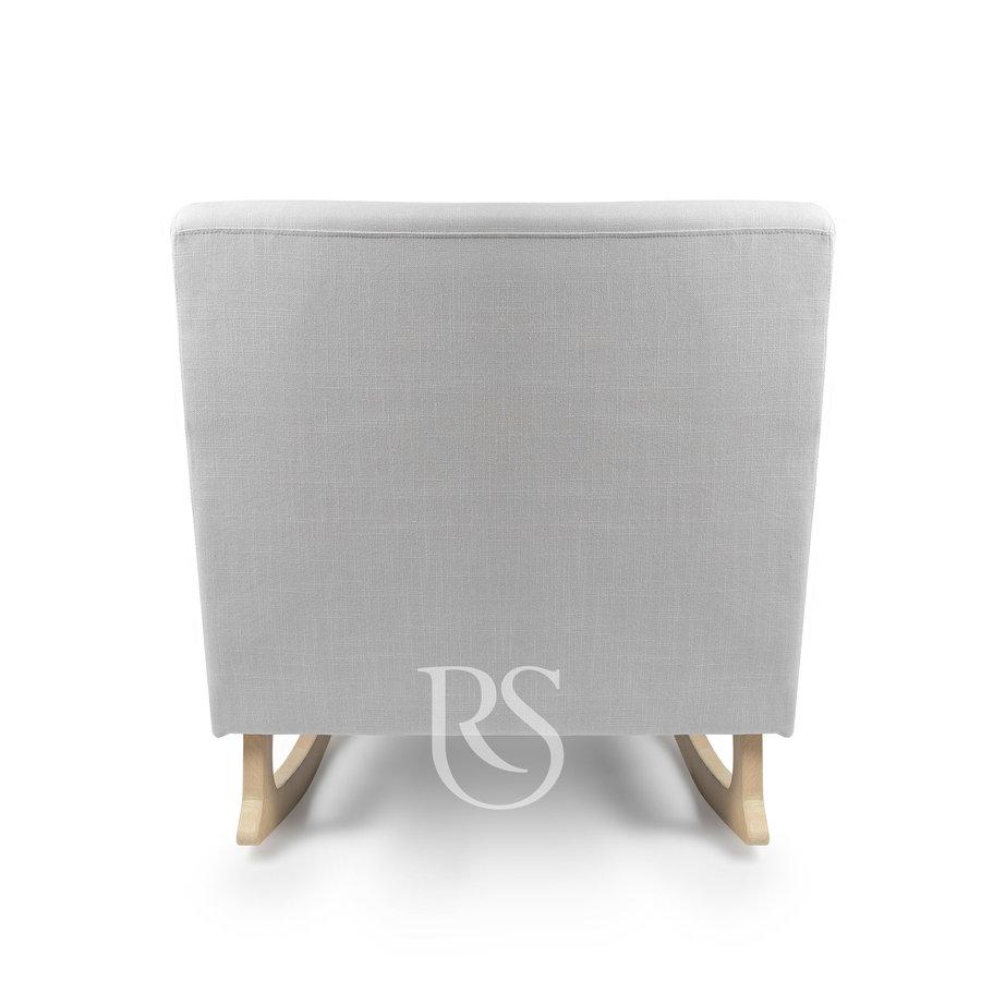 schommelstoel Jazz Rocker - Silver Grey / Natural-4