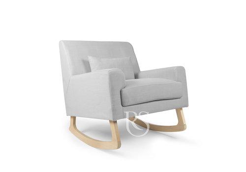 Rocking Seats schommelstoel Jazz Rocker - Silver Grey / Natural