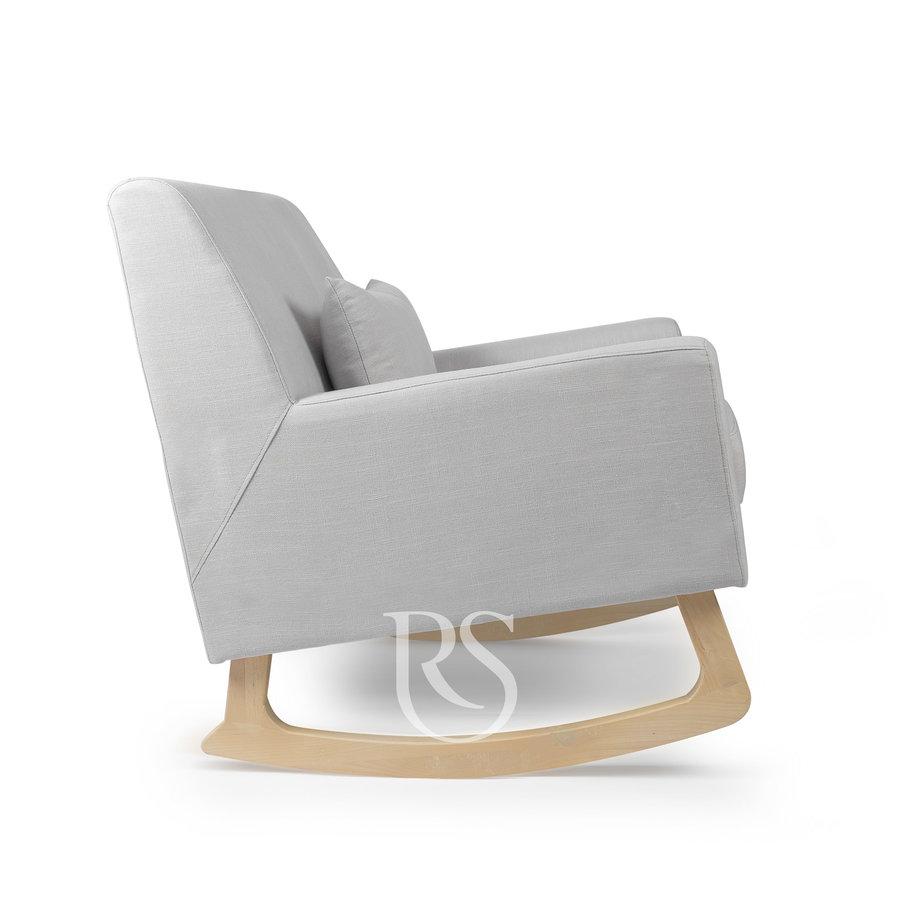 schommelstoel Jazz Rocker - Silver Grey / Natural-2
