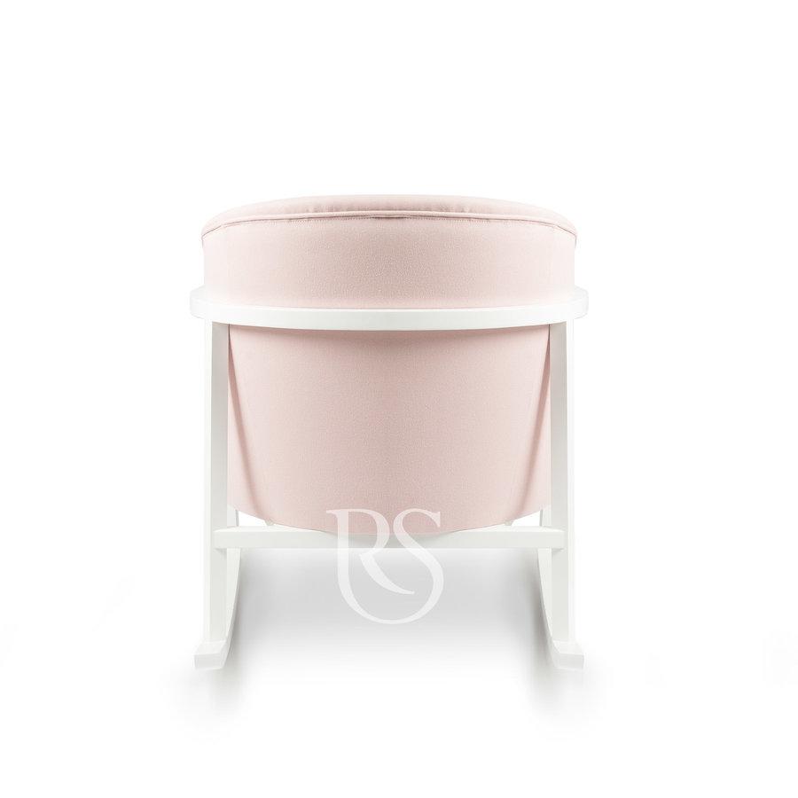 schommelstoel Cruz Rocker - Blush Pink / White-4