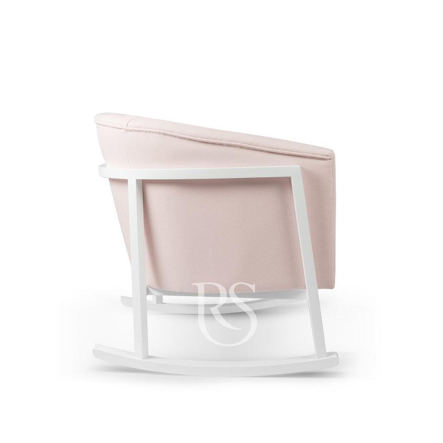 schommelstoel Cruz Rocker - Blush Pink / White-3