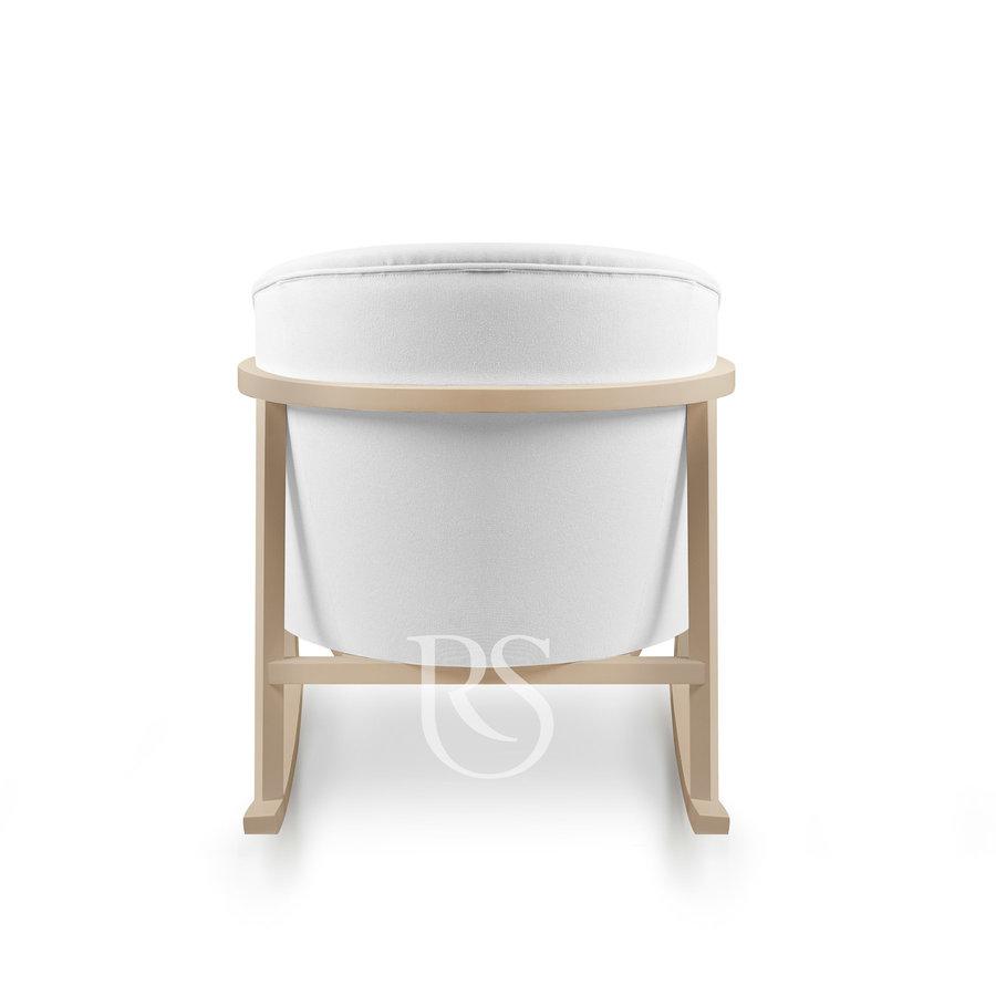 schommelstoel Cruz Rocker - Pure White / Natural-3