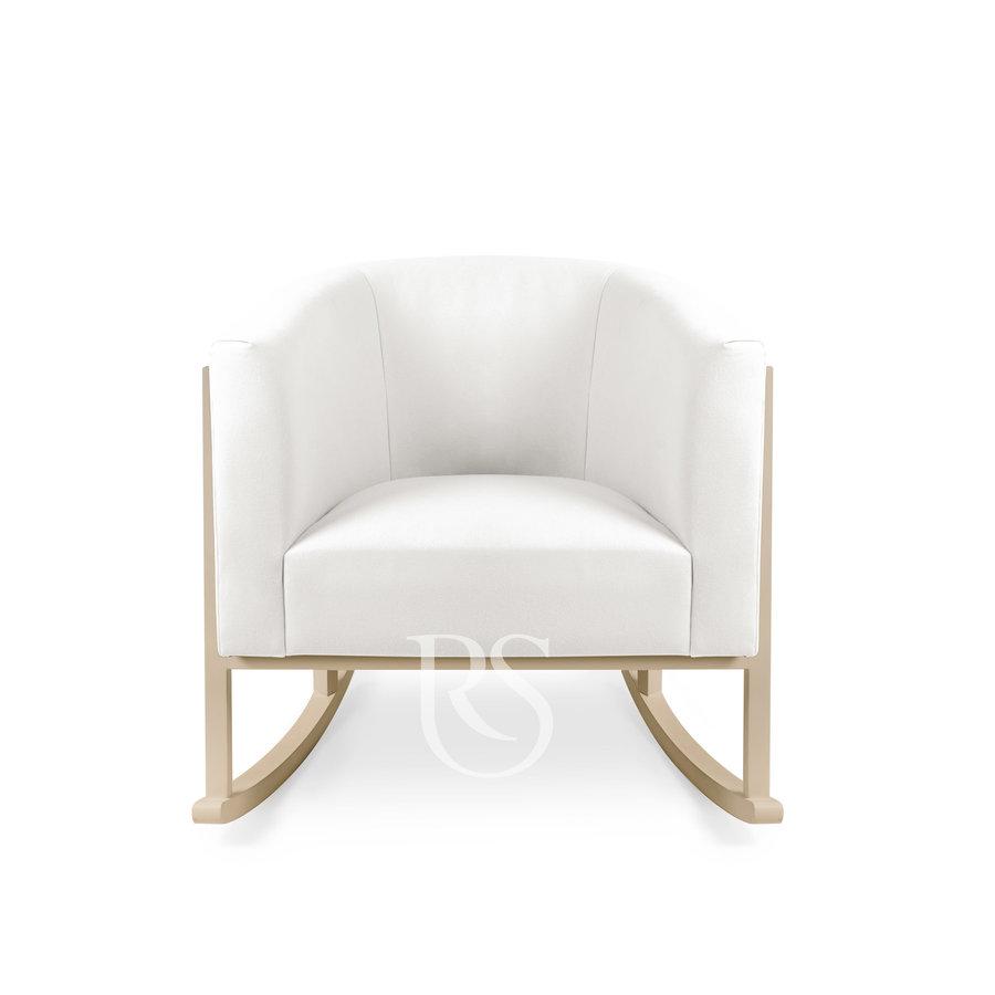 schommelstoel Cruz Rocker - Pure White / Natural-2