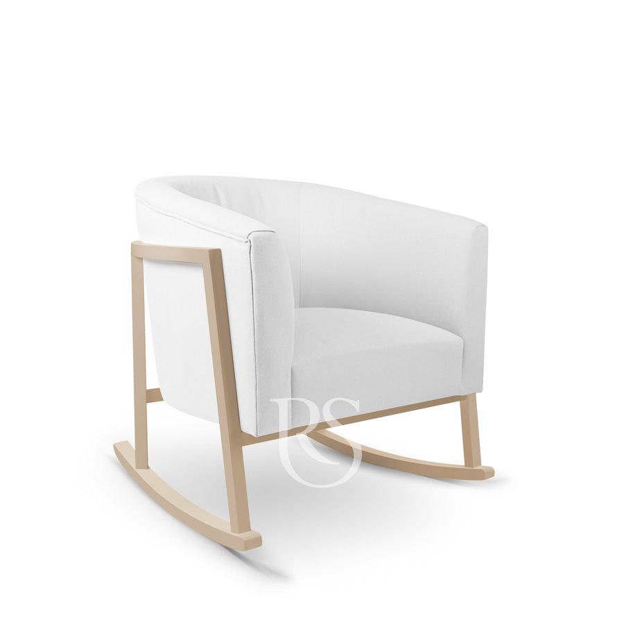 schommelstoel Cruz Rocker - Pure White / Natural-1