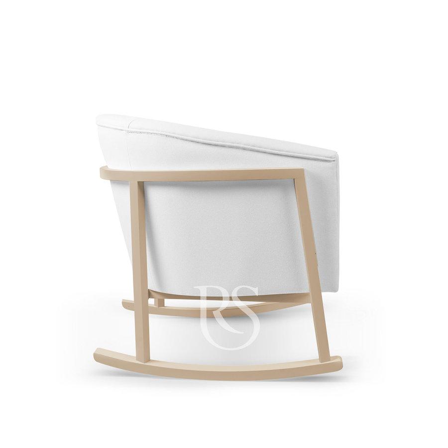 schommelstoel Cruz Rocker - Pure White / Natural-4