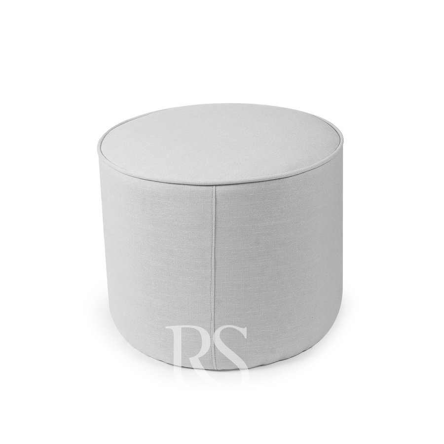voetenbank Universal Footstool - Silver Grey-1