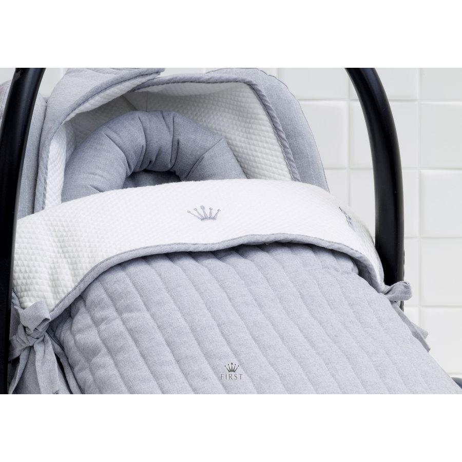 voetenzak voor autostoel - Endless Grey-2
