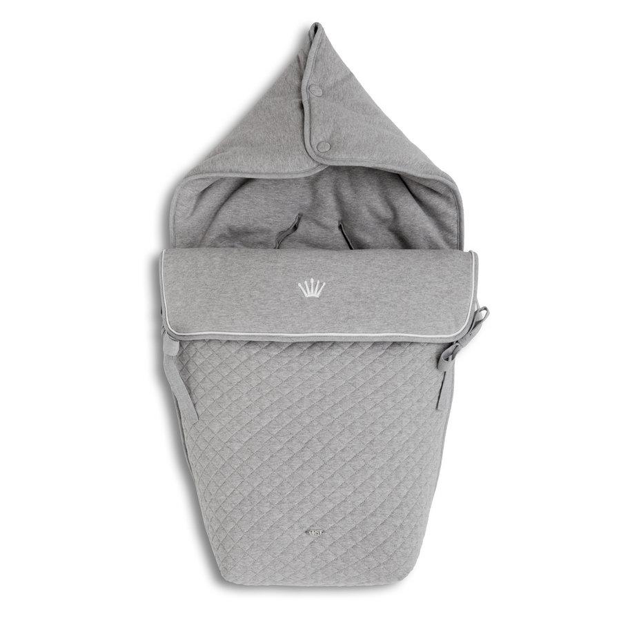 voetenzak autostoel - Endless Grey-1
