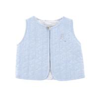thumb-Gewatteerde vest zonder mouwen -  Lichtblauw-1
