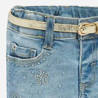 thumb-korte broek met riem - jeans-2