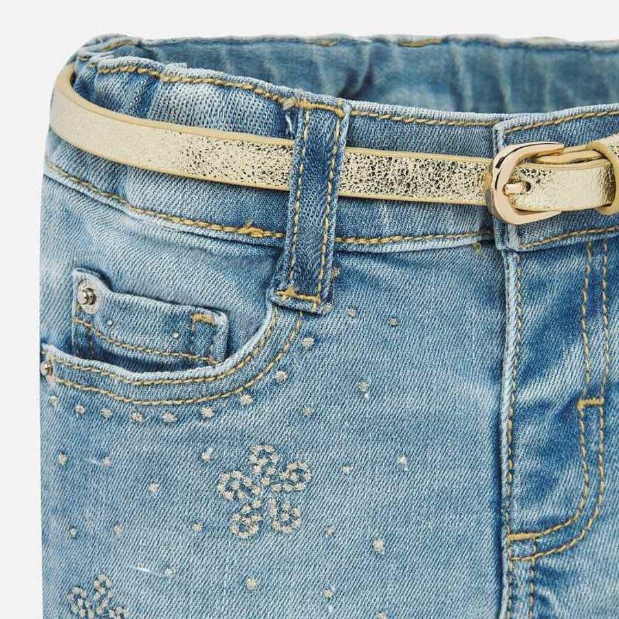 korte broek met riem - jeans-2