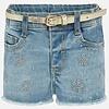 Mayoral korte broek met riem - jeans