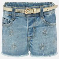 thumb-korte broek met riem - jeans-1
