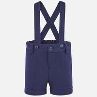thumb-korte broek met bretels - blauw-1