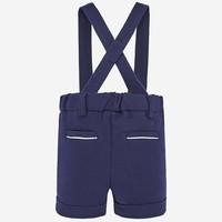 thumb-korte broek met bretels - blauw-2