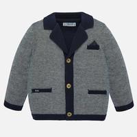 thumb-vest met pochet - blauw-1