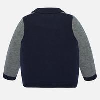 thumb-vest met pochet - blauw-2