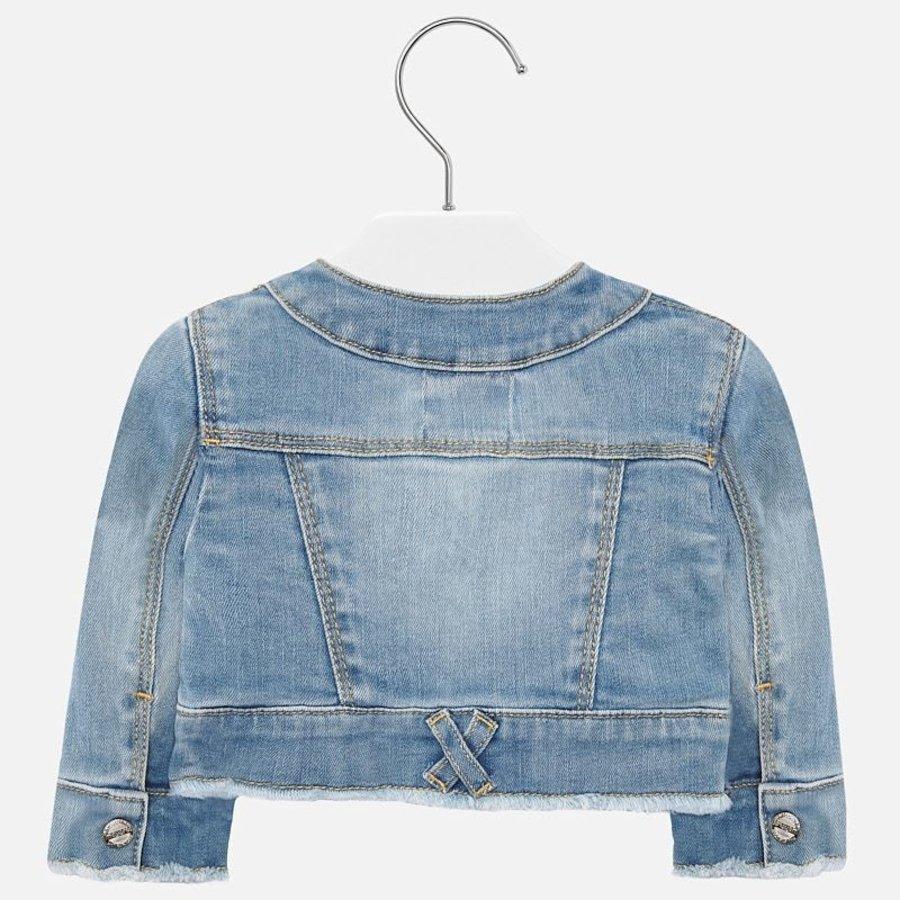spijkerjasje stretch glitter - jeans-2