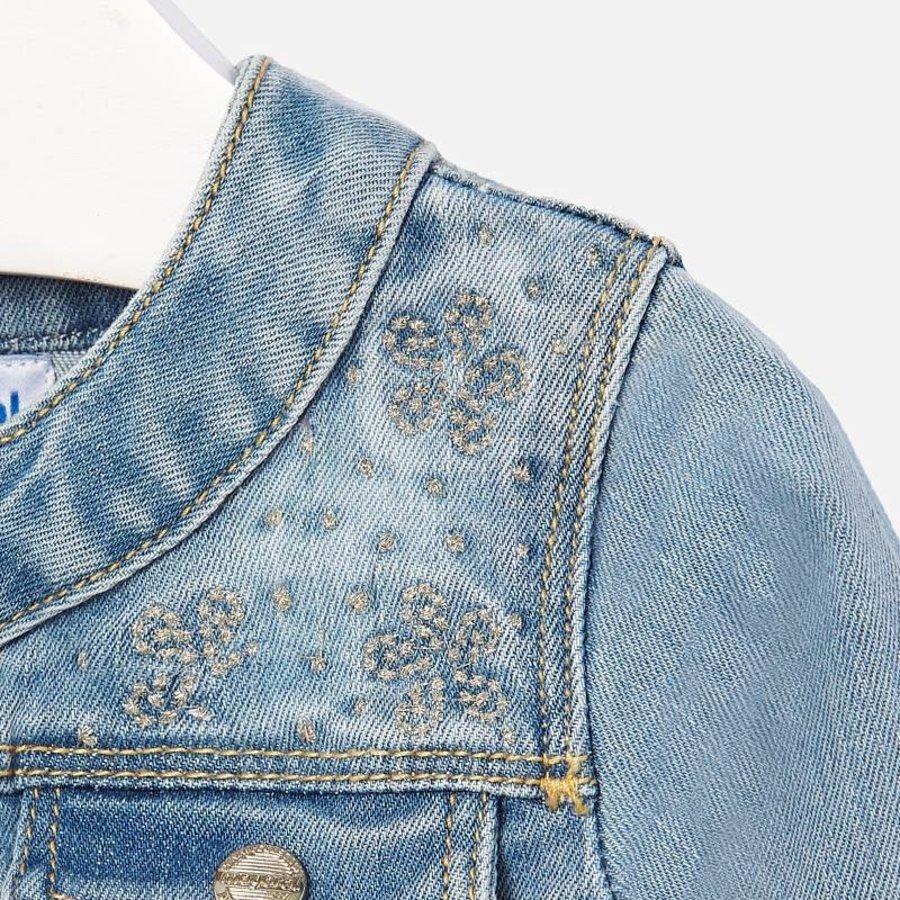 spijkerjasje stretch glitter - jeans-3