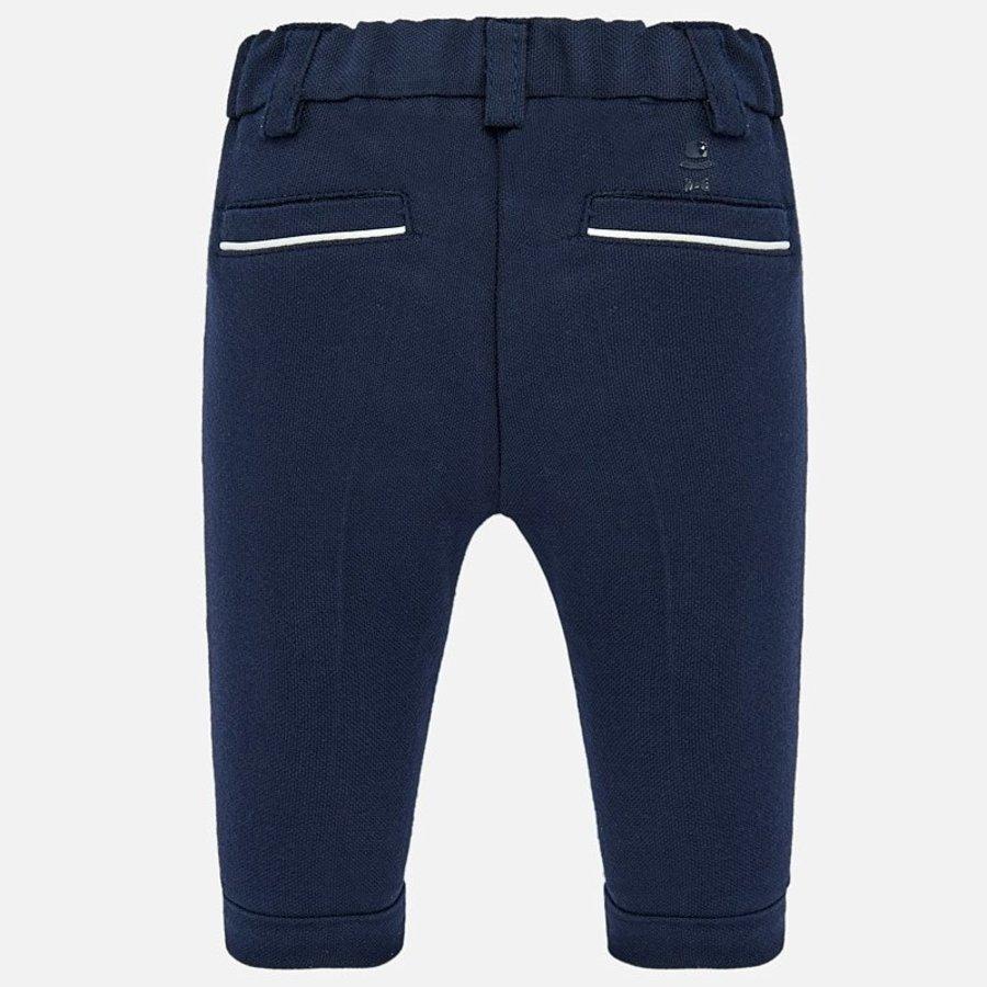 pantalon stretch - blauw-2